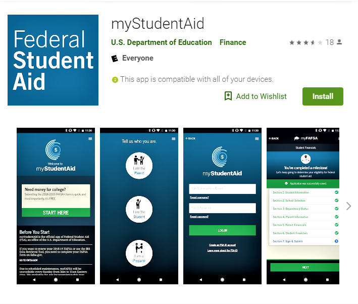 Government Going Mobile With Financial Aid Form